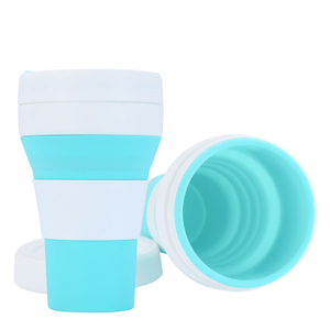 450ml Collapsible Silicone Coffee Cup