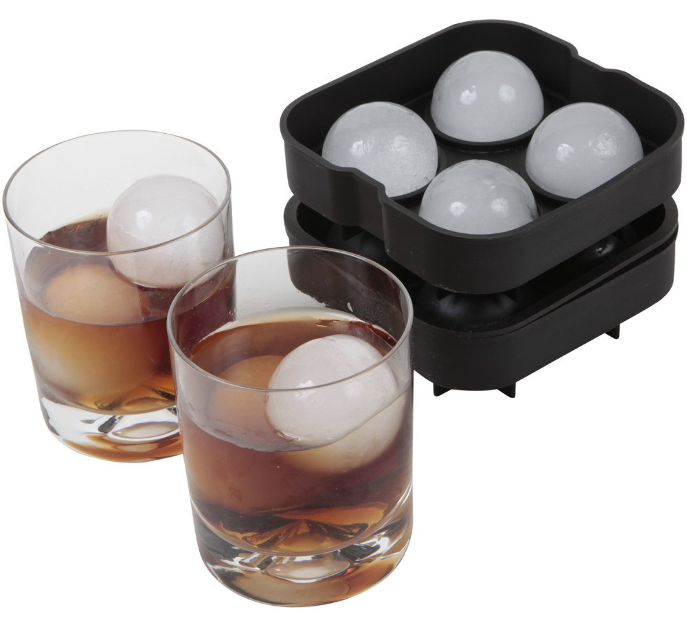 Wholesale Round Spheres Cube Maker Silicone Ice Ball Mold, Ice Cubes Silicone Mold Silicone Ice Mold 2020