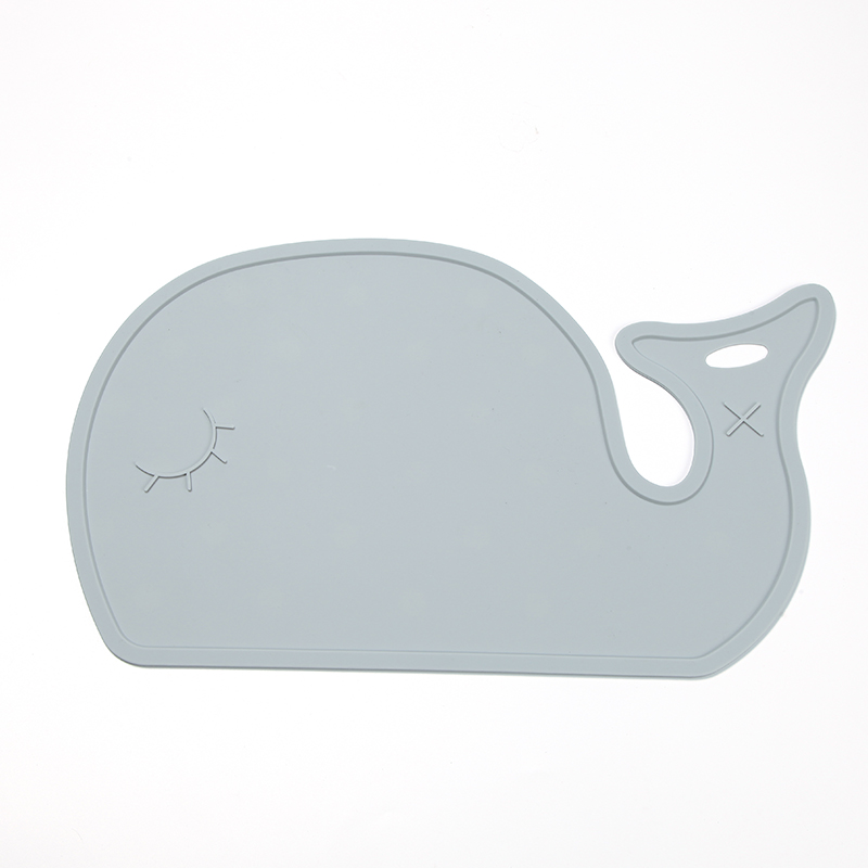 New Design Cute Whale Kids Table Placemats, Children Table Mat, Food Placemat